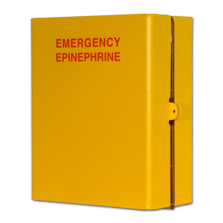 10 Compartment Epinephrine Emergency Cabinet