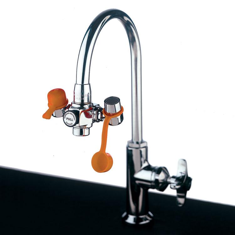 Faucet Mounted Eye Wash Station