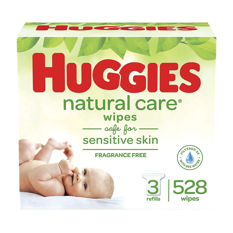 Huggies Natural Care Baby Wipes 552 Case
