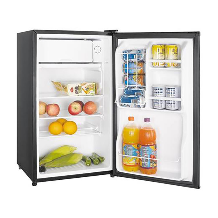 Magic Chef 3 5 Cubic Foot Refrigerator Freezer Stainless
