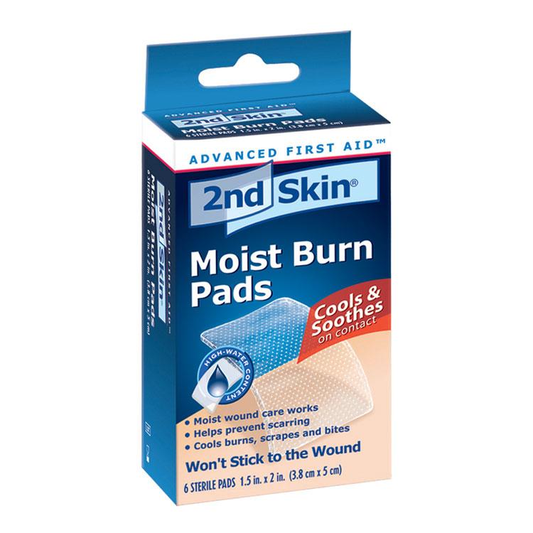 Spenco 2nd Skin Non Stick Moist Burn Pads 6 Box