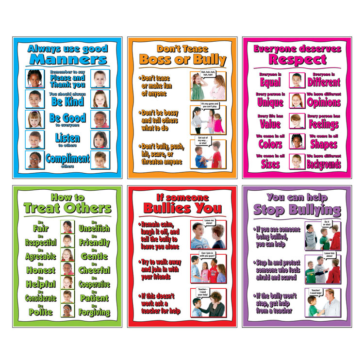 Positive Behavior Poster Set