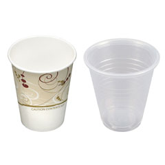 Paper and Plastic Cups