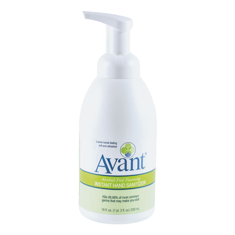 Avant Alcohol-Free Foaming Instant Hand Sanitizer - 18 oz