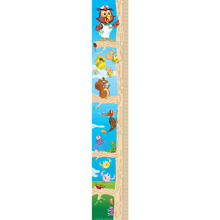 forest friends growth chart