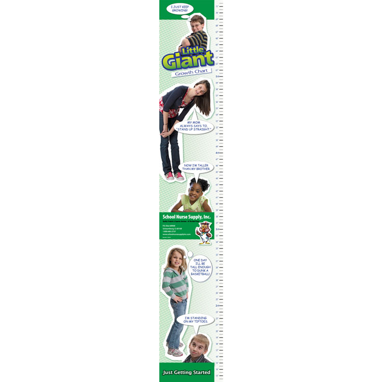 Little Giant Growth Chart