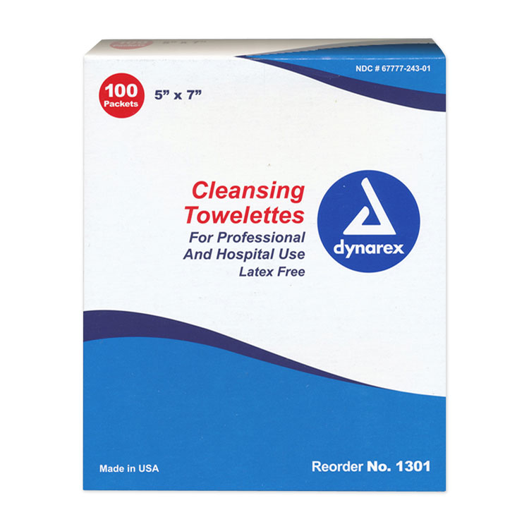 Cleansing Towelettes (100/Box)