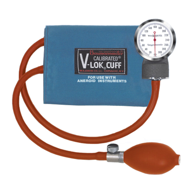 Baum Latex-Free Pocket Aneroid with Case - Adult