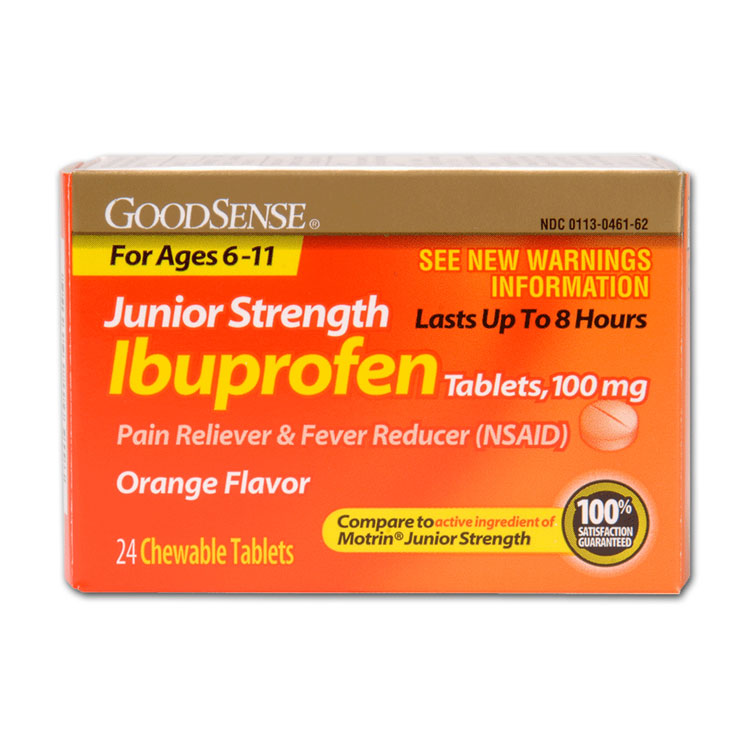Ibuprofen Junior Strength - 100 mg (24/Box)