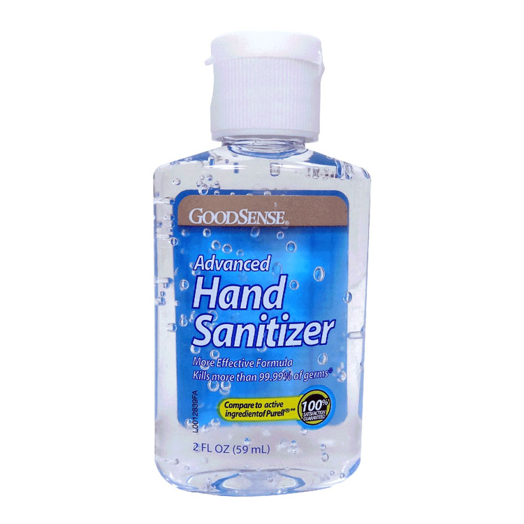 Advanced Hand Sanitizer - 2 oz Bottle