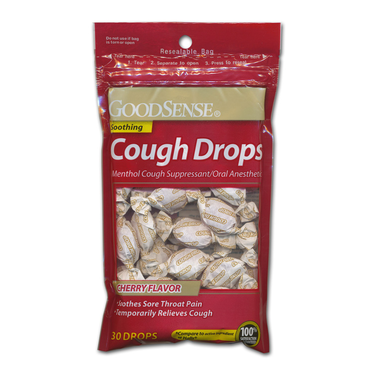 Generic Cough Drops - Cherry