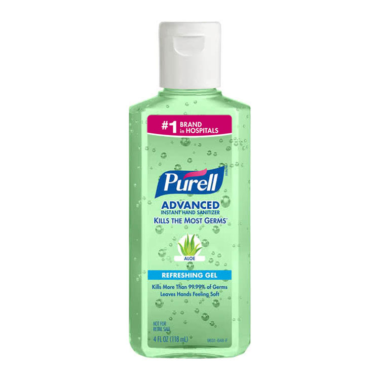 PURELL Advanced Instant Hand Sanitizer with ALOE - 4.25 oz Squeeze
