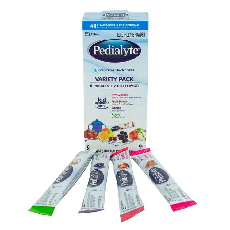 pedialyte powder packs  8  box