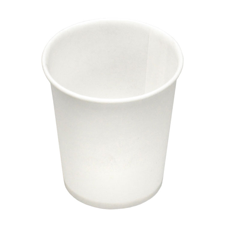 3 oz Flat Bottom Paper Water Cup (5000/Case)
