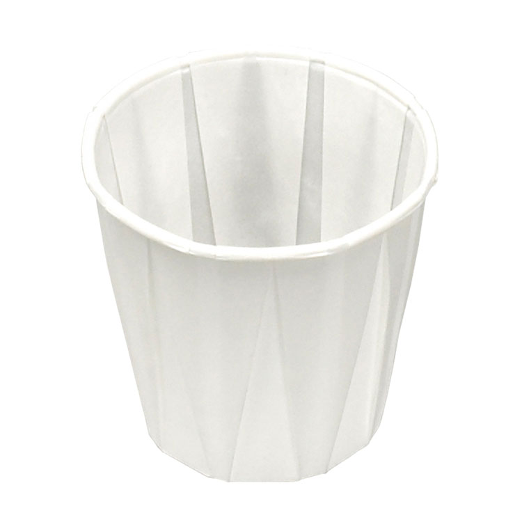 3 1/2 oz Pleated Paper Cup (5000-ct)