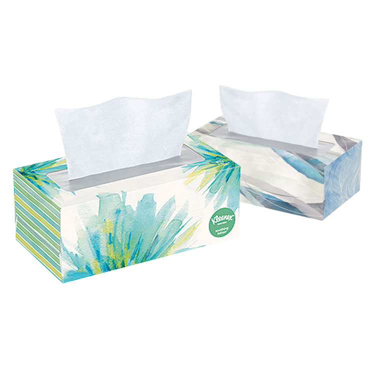 Kleenex Facial Tissues with Lotion (110-ct box)