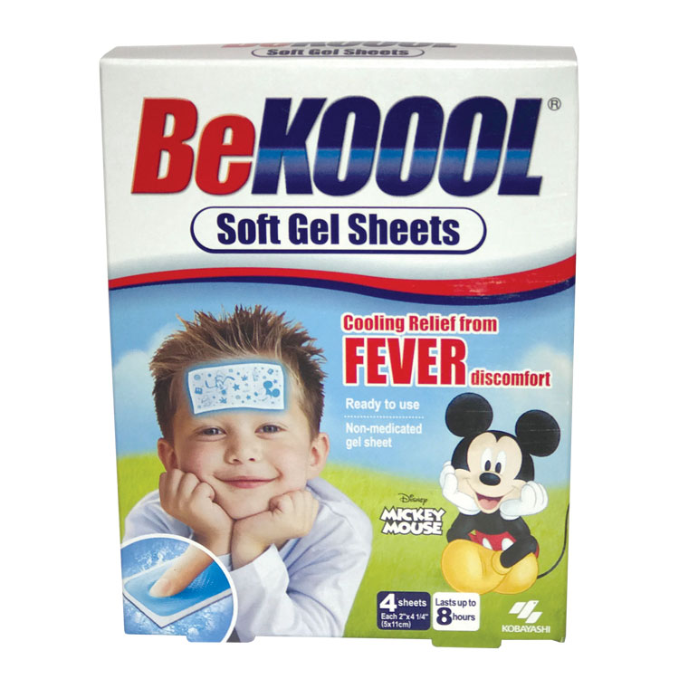Be Koool Soft Gel Sheets (4-ct)