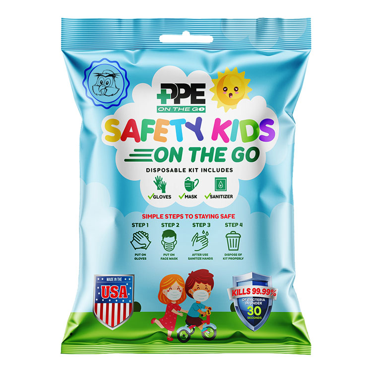 Safety Kids On the Go - Disposable Kit