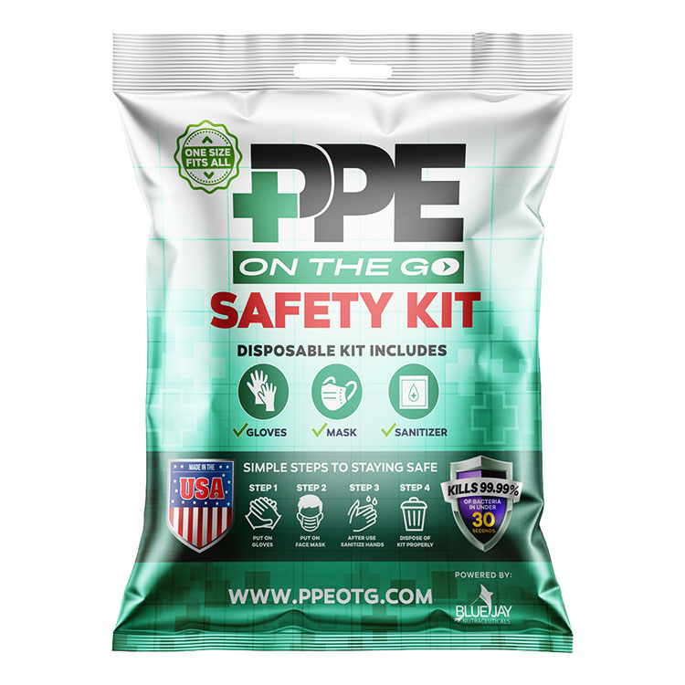 PPE On the Go Safety Kit