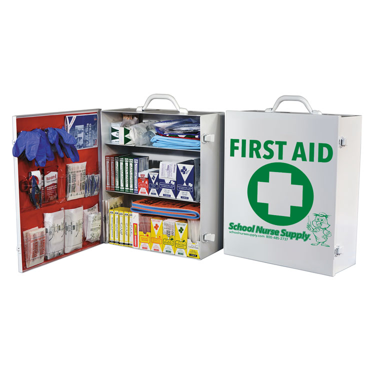 3-Shelf Deluxe First Aid Cabinet