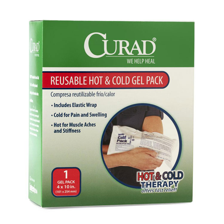 CURAD Reusable Hot/Cold Gel Pack with Cover