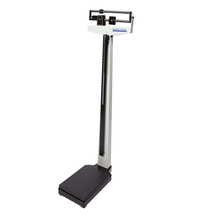 Health O Meter Professional 402 Kl Scale White With Wheels