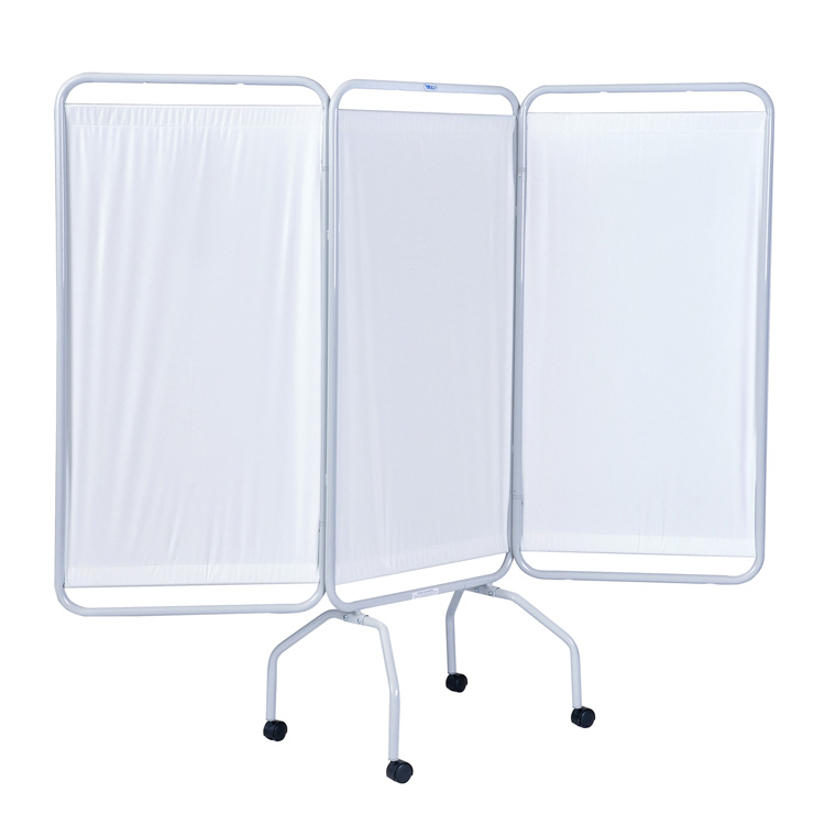 3 Panel Screen with Wheels
