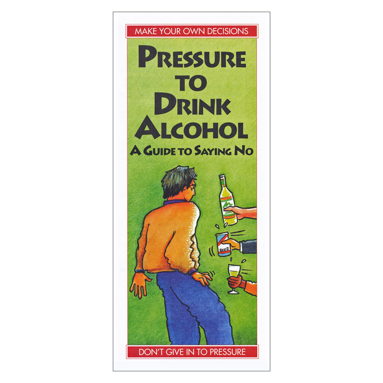 Pressure to Drink Alcohol: A Guide to Saying No (Each)