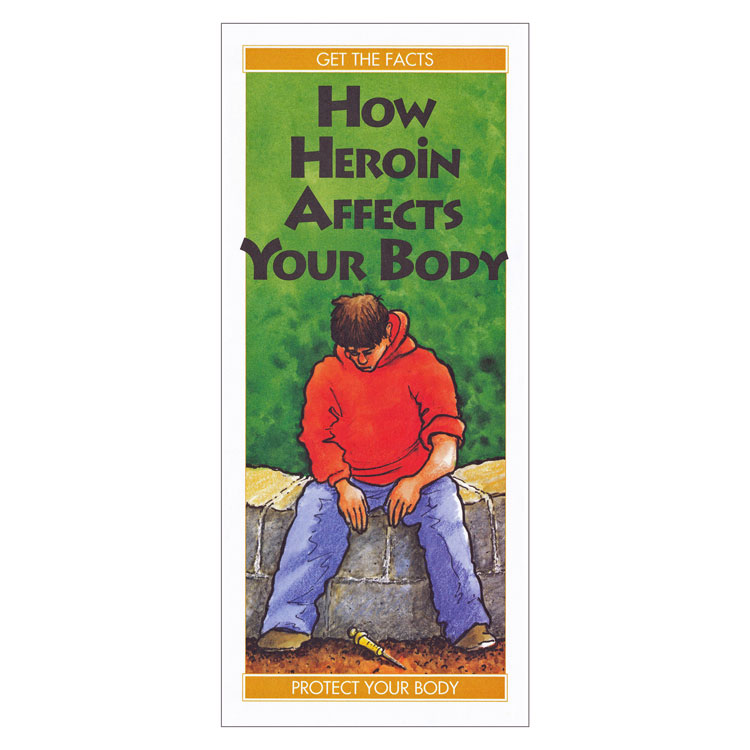 How Heroin Affects Your Body (50/Pkg)