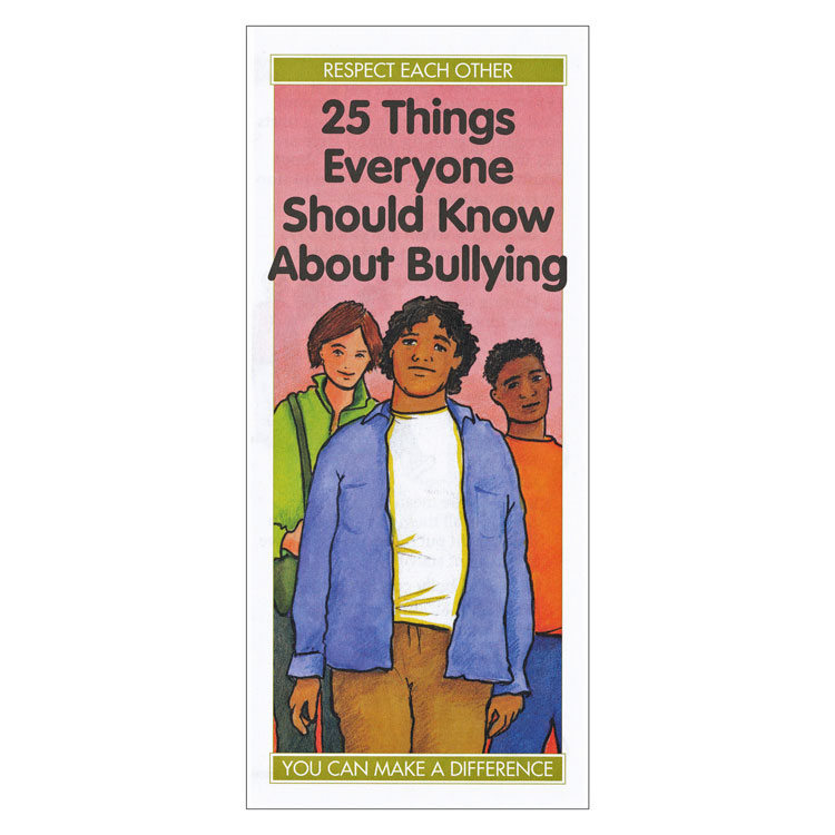 25 Things Everyone Should Know About Bullying (Each)