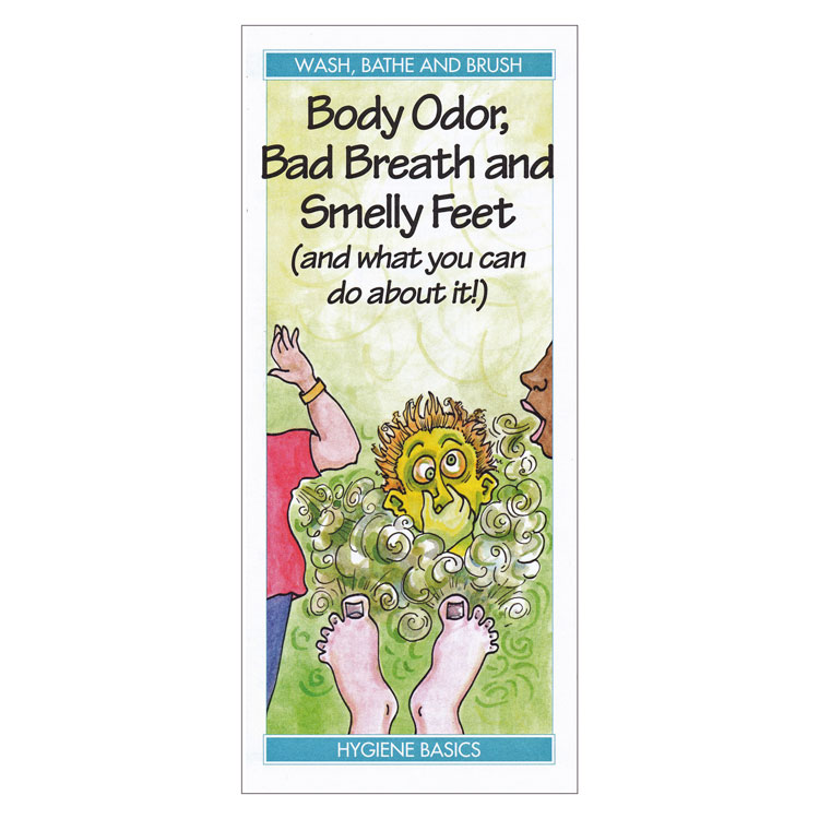 Body Odor, Bad Breath and Smelly Feet (and what you can do about it!) (Each)