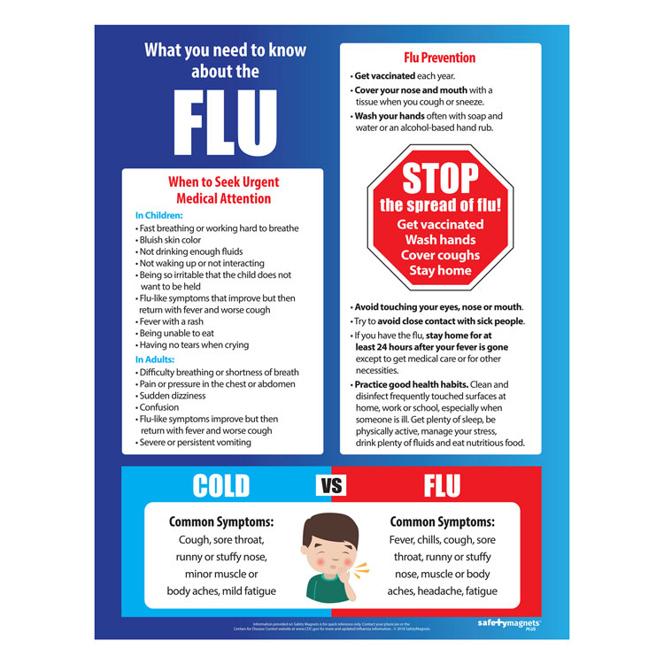 What You Need To Know About the Flu Magnets