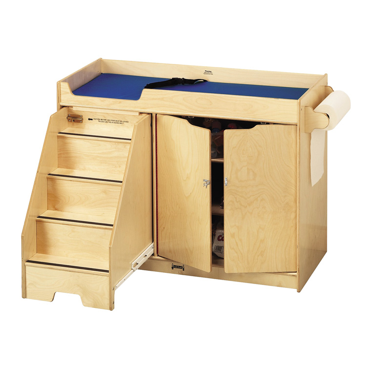 Changing Table With Stairs Pediatric Exam Table Paper