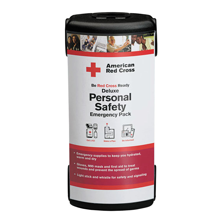 American Red Cross - Deluxe Personal Safety Emergency Pack