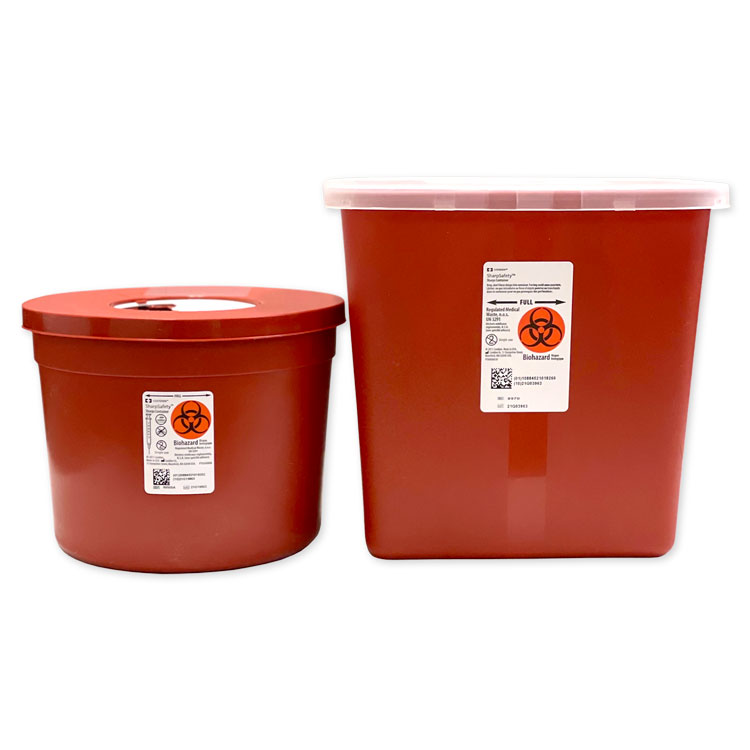Multi-Purpose Sharps Containers - 2 Gallon