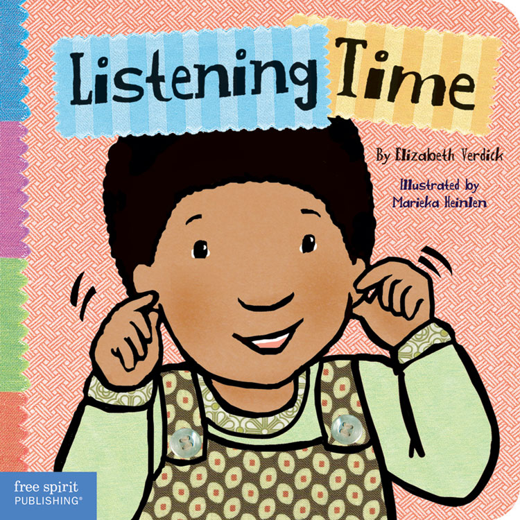 Toddler Tools Board Book Series - Listening Time