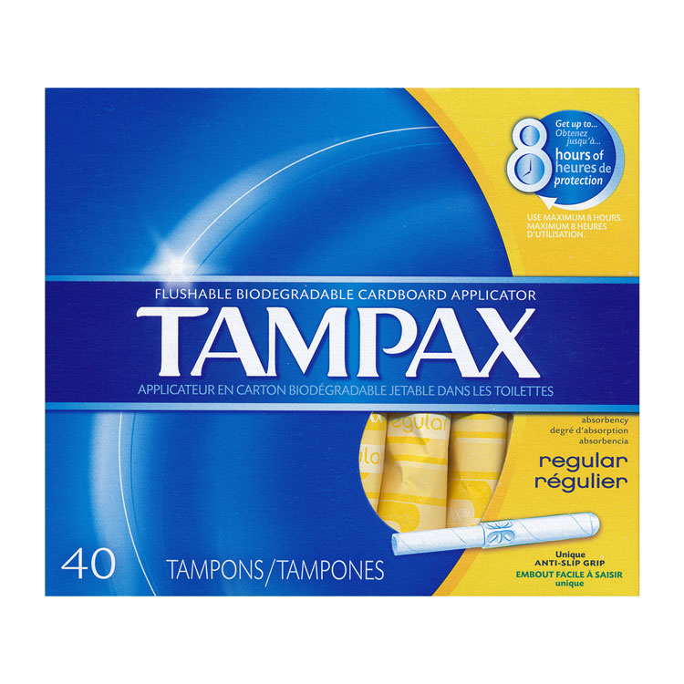 Tampax Regular Tampons (480/Case)