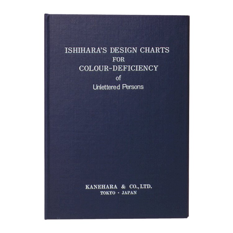 ISHIHARA Test Chart Books for Color Deficiency (38 Plate)