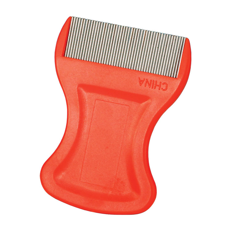 Short Tooth Metal Lice Comb
