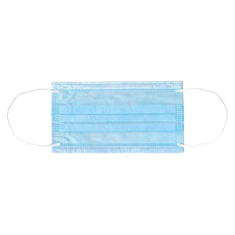 Adenna Earloop Face Masks - Blue (50/Box)