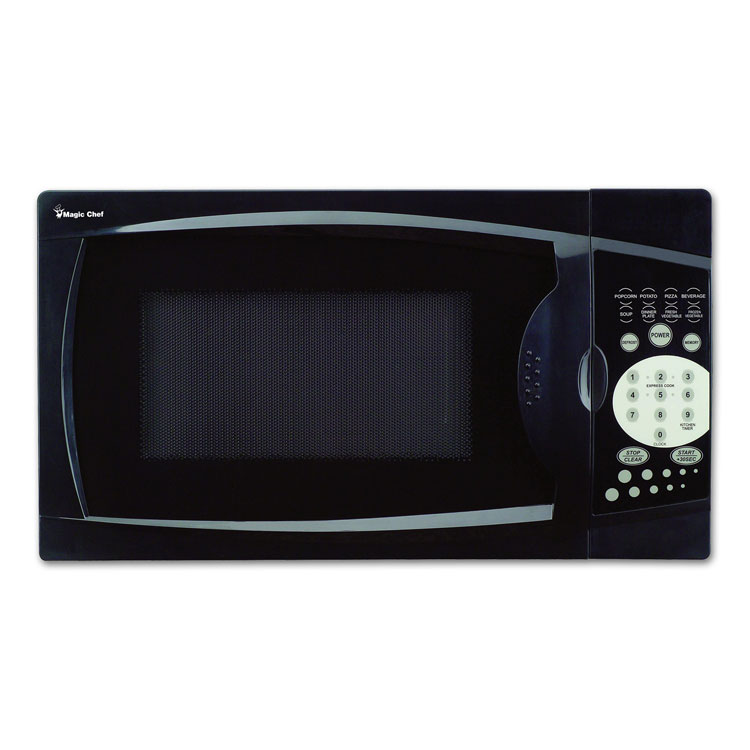 0.7 Cubic Foot Compact Microwave (Black)