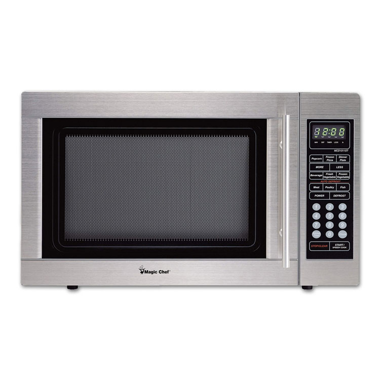 1.3 Cubic Foot Microwave (Stainless Steel)