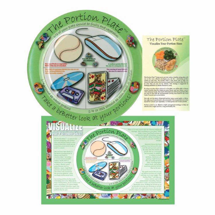 The Portion Plate Total Kit - Adult