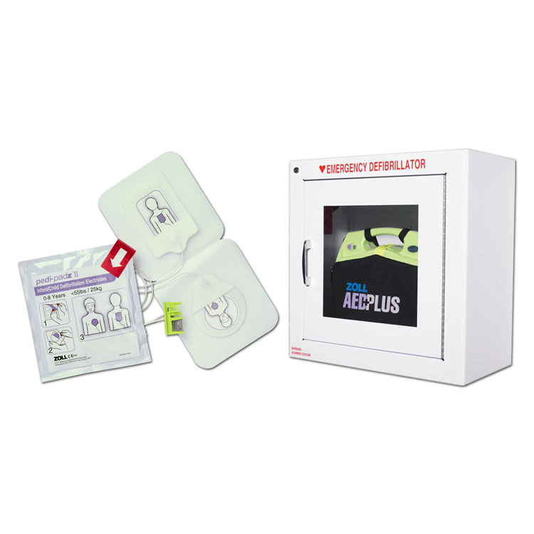 Zoll AED Plus Combo Pack - Fully Automatic Unit