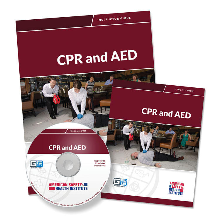 CPR and AED Training Program - Student Handbook (Only)