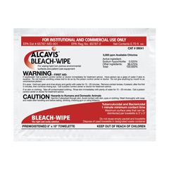 Bleach Wipes & Packets