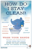 SNS Well-Rounded Poster Series - Stay Clean (Paper)