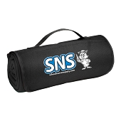 SNS Roll-Up Sweatshirt Blanket - Black