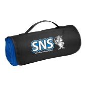 SNS Roll-Up Sweatshirt Blanket - Blue