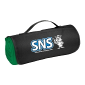 SNS Roll-Up Sweatshirt Blanket - Green